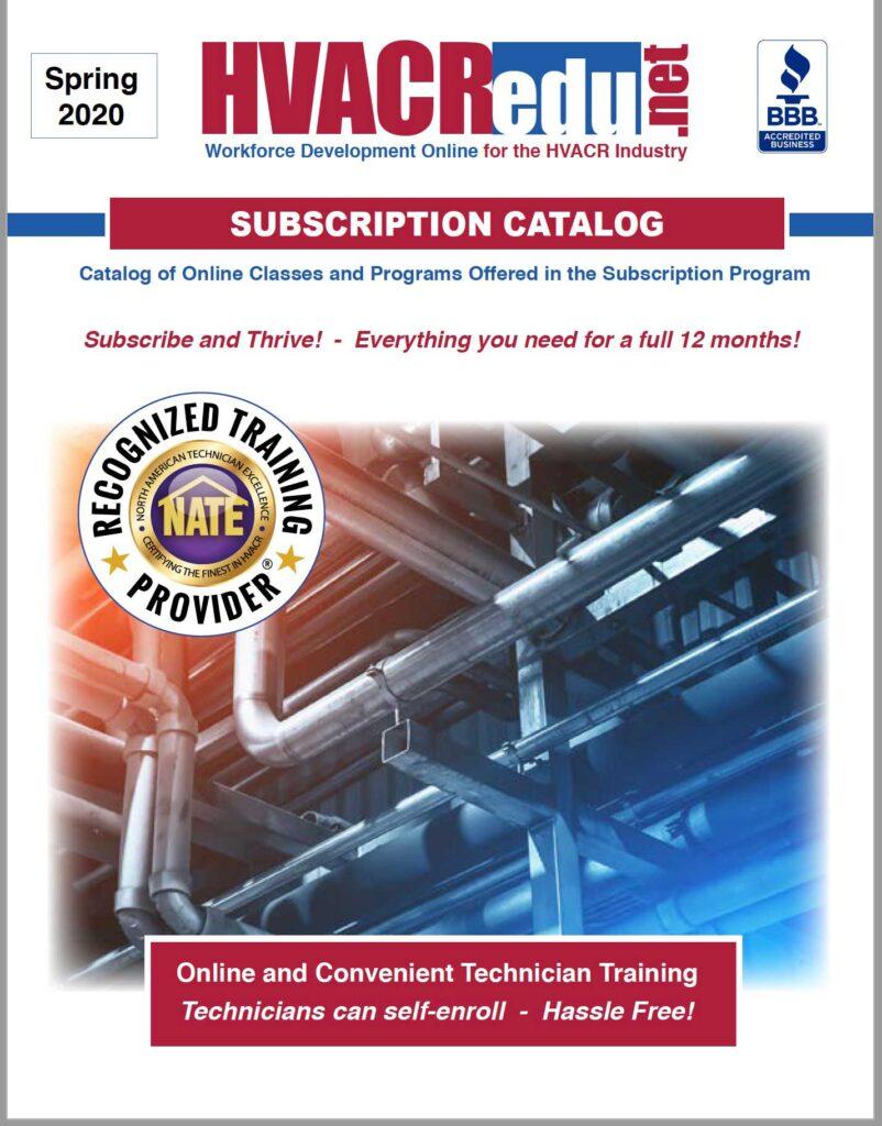 HVAC Subscription Catalog