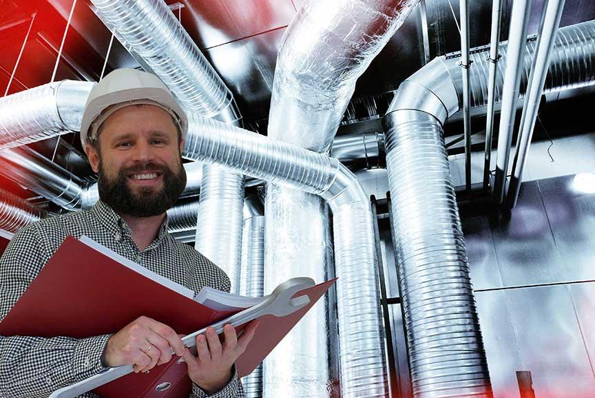 HVAC career technician
