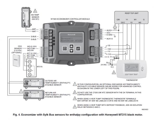 Economizer for HVAC systems